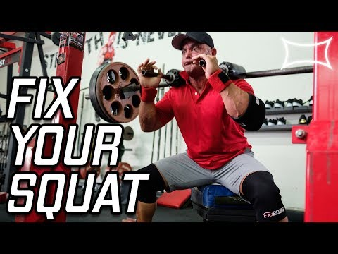Fix these 3 Common Squat Problems Using the Box Squat