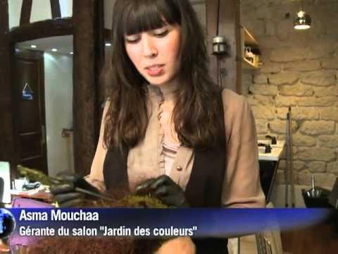 Le Jardin des Couleurs, Salon de Coiffure Bio et 100% Naturel - YouTube