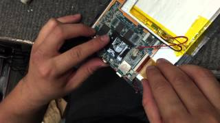 iView Tablet - Replace PCB board