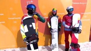 JO 2018 : Snowboard cross. Pierre Vaultier en finale