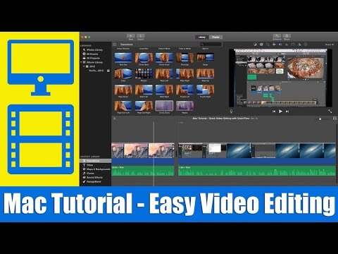 Mac Tutorial - Quick & Easy Video Editing with QuickTime