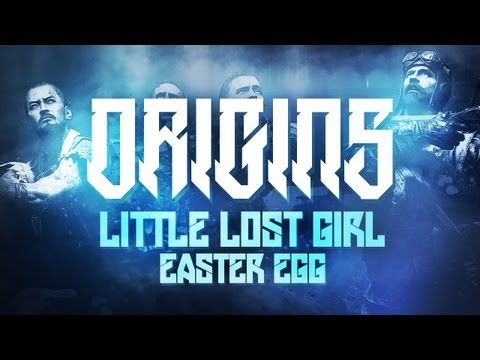 """Black Ops 2 ZOMBIES """"Origins"""" - """"LITTLE LOST GIRL"""" - Easter Egg Achievement Guide!"""