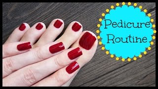 My Pedicure Routine! | JennyClaireFox