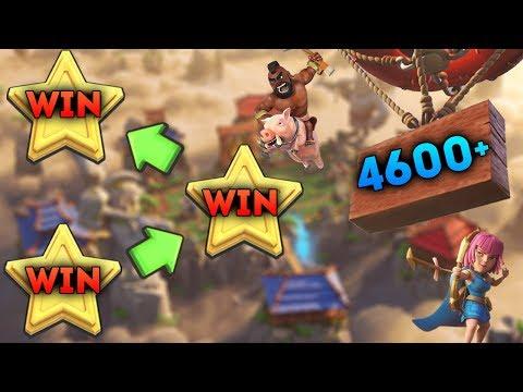 Win Win Után! | 4600+ Trophy Push | Clash Royale Magyarul