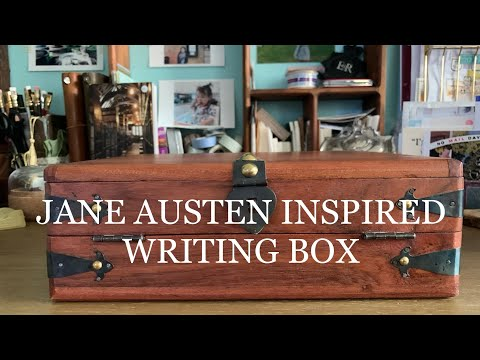 Jane Austen Inspired Writing Box | Girl and Quill