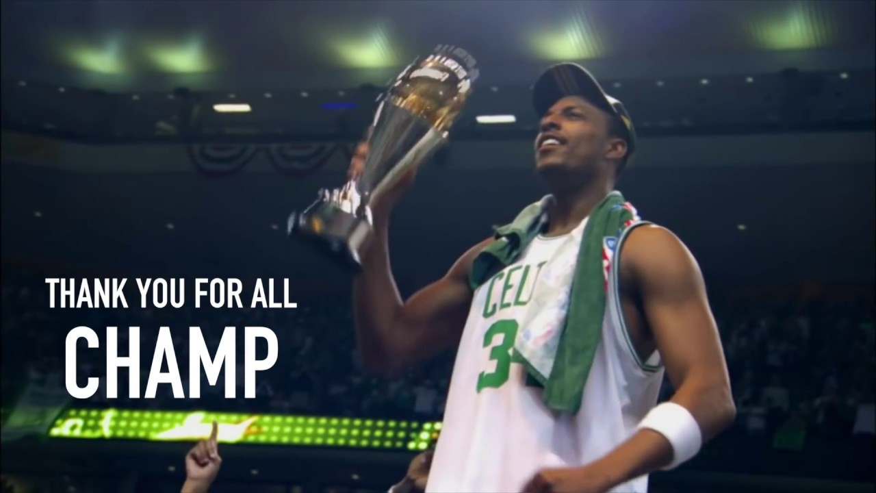 NBA players honor Paul Pierce as The Truth's Hall of Fame career comes to a close