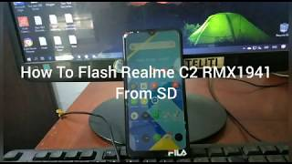 Cara Flash Realme C2 (RMX1941)