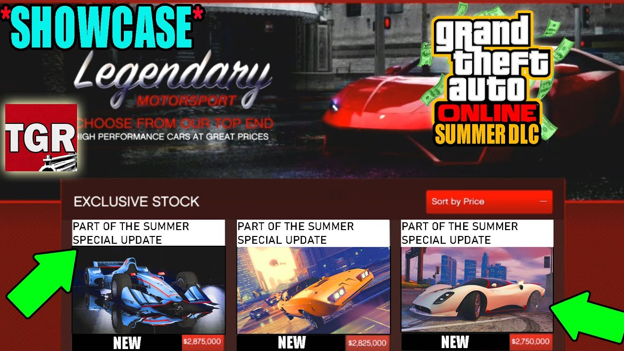 GTA 5 ONLINE: LOS SANTOS SUMMER SPECIAL DLC UPDATE! SPENDING SPREE, NEW CARS | BUYING EVERYTHING