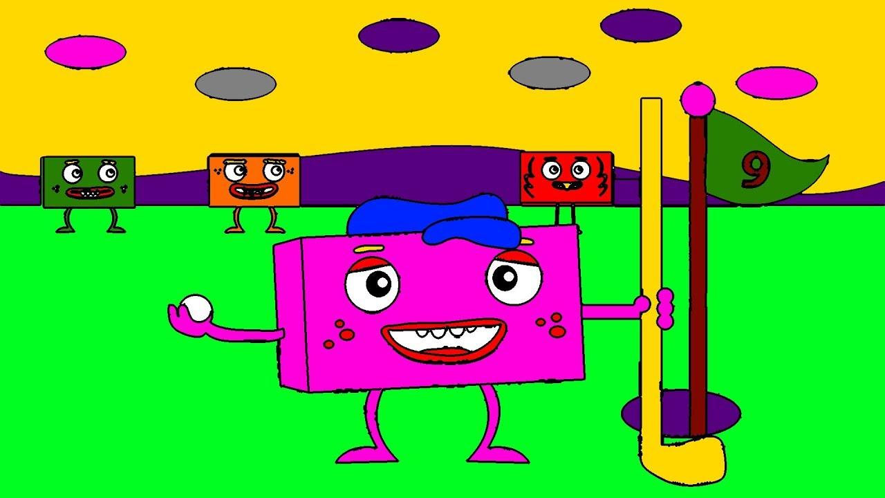 Big Block SingSong Golf Game Coloring Book For Toddlers ...