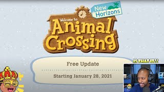January Update Reaction - Festivale?! | Animal Crossing New Horizons