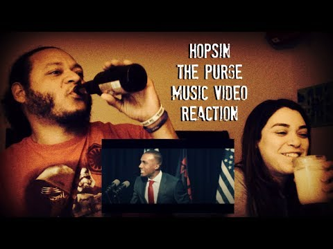 Hopsin The Purge music video Reaction!