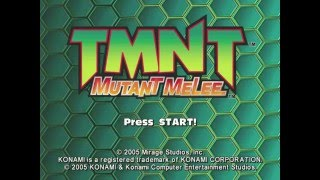 TMNT Mutant Melee gameplay