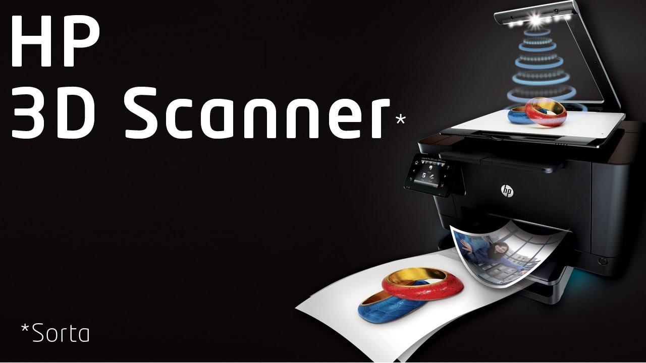 dfa508f73755 3D Scanner  HP TopShot Laserjet Pro M275 Review - YouTube