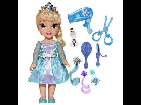 Princesas disney frozen mu eca elsa disney juguetes para - Muebles de princesas disney ...