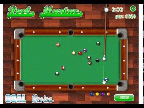 เกมส์สนุกเกอร์ Pool Maniac