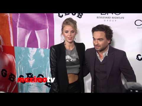 Johnny Galecki and Kelli Garner CBGB Los Angeles Premiere Arrivals