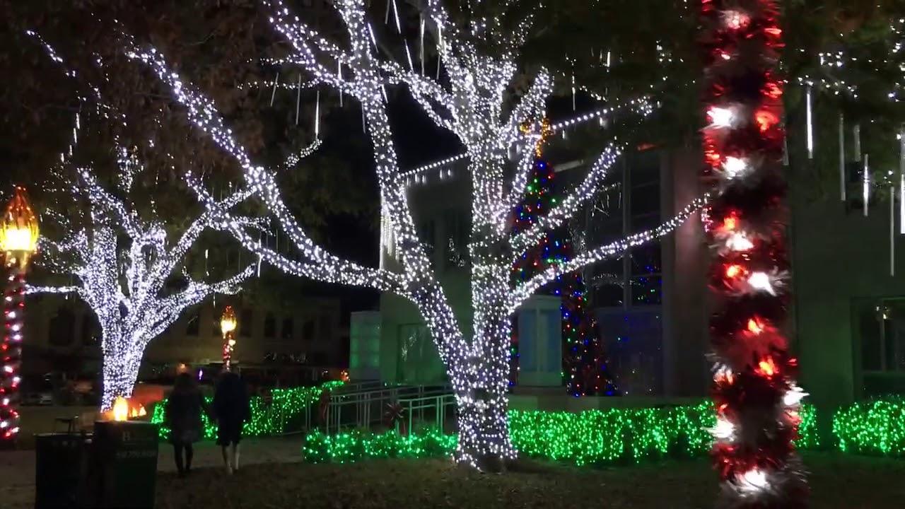 Burnet Texas Christmas 2020 2017 Christmas Downtown   Burnet, Texas   YouTube