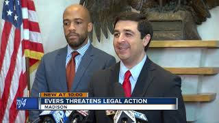 'Wisconsin should be embarrassed by this': Evers will ask Walker to veto lame-duck legislation