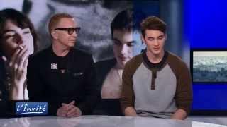 """Bruce Labruce et Pier-Gabriel Lajoie: """"Gérontophilia film gay romantique"""" TV5MONDE"""