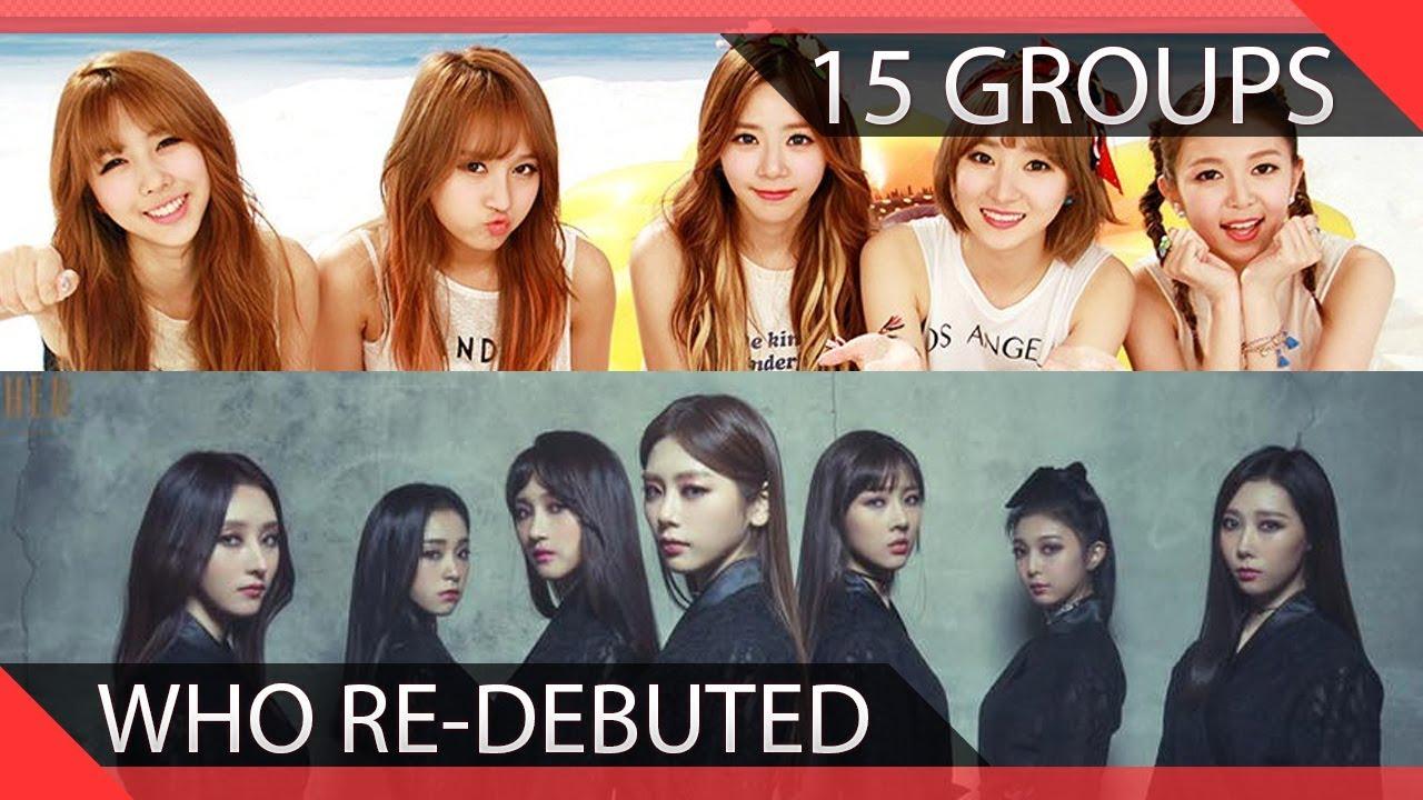 Kpop Group: 15 KPOP Groups Who Re-debuted Into Different Groups