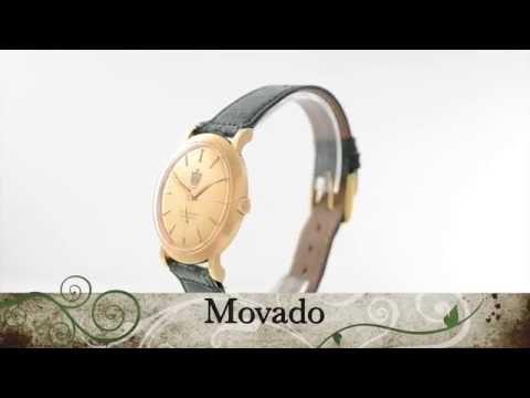 Movado with Arabic emblem