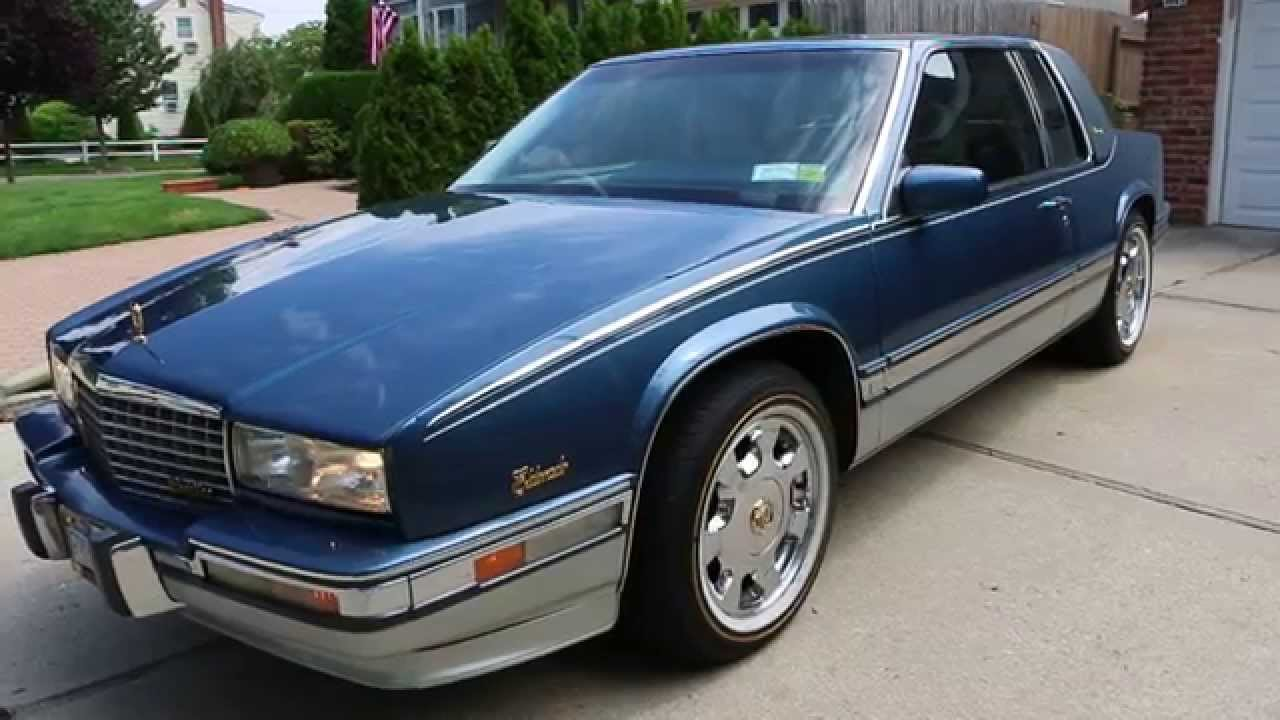 1990 Cadillac Eldorado Biarritz For Sale Low Miles Rare
