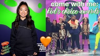 Come to the Kid's Choice Awards with Me! | Nicole Laeno