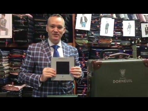 Dormeuil's Ambassador Luxury Suitings 180's