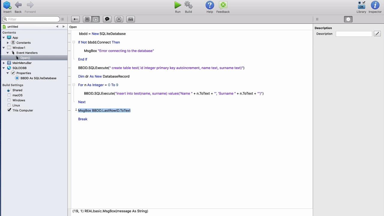 GettingStarted:SQLiteDatabase and iOSSQLiteDatabase for Beginners