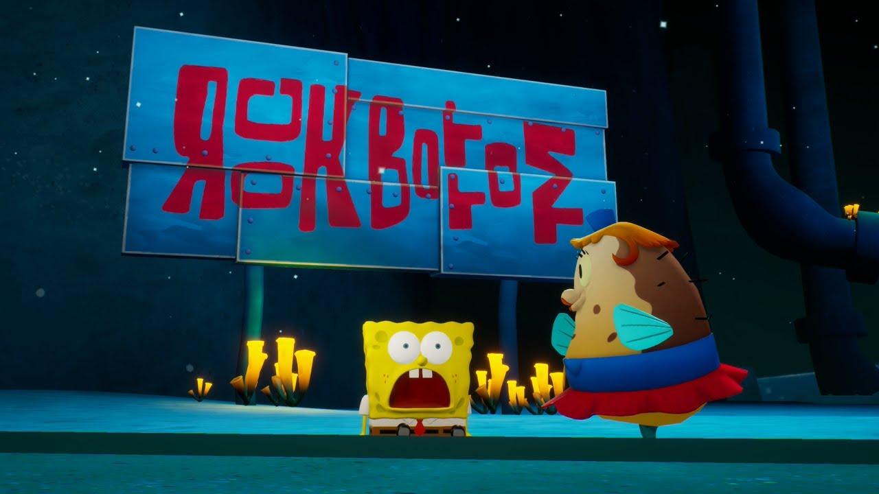 Spongebob Squarepants Battle For Bikini Bottom Rehydrated Hitting Rock Bottom Xbox One Gameplay Youtube