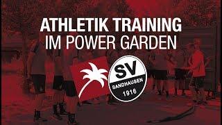 SV Sandhausen Athletik Training im Power Garden   Pfitzenmeier