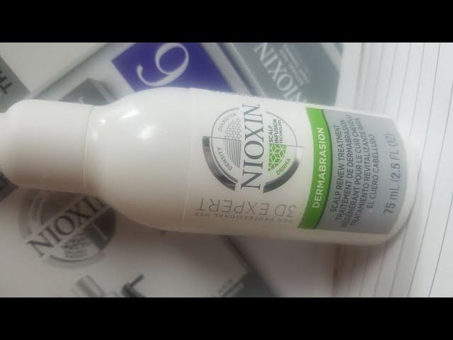 Scalp Relief for Seborrhea dermatitis using Nioxin