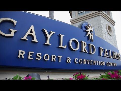 The Gaylord Palms Hotel Orlando Florida