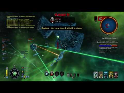 the borg battle Star Trek Online