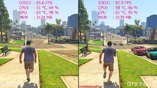 GTA 5 Pc GTX Titan X Vs GTX 980 Frame Rate Comparison