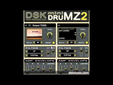 DSK mini DrumZ 2 - Free VST