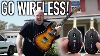 The Cheapest Wireless Guitar system, But whats the catch?