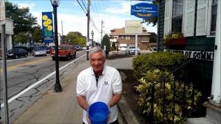 EGCC Executive Director Steve Lombardi takes the ALS Ice Bucket Challenge