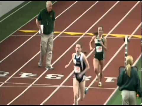 Binghamton University's Sarah Veith, 8th in the mi...