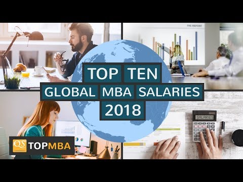 Top 10 Global MBA Salaries - QS Jobs and Salary Trends Report 2018