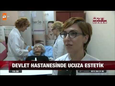 Devlet hastanesinde ucuza estetik - atv Ana Haber