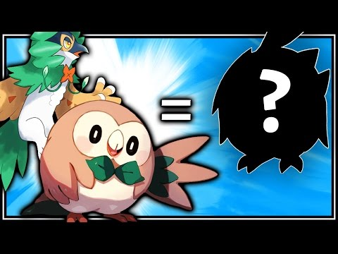 ROWLET + DECIDUEYE = DECIDUET? - Pokemon Tiny Fusion [Photoshop/Pokemon Sun and Moon] (BrettUltimus)