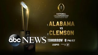 ESPN host Maria Taylor discusses the upcoming Clemson vs. Alabama game