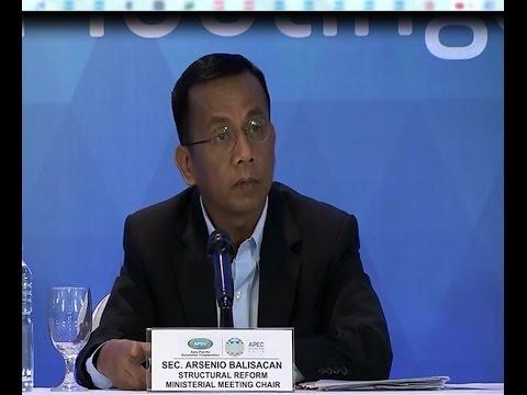 Opening Statement by Secretary Arsenio Balisacan