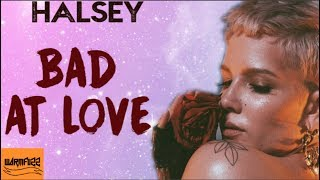 Halsey - Bad at Love (Karaoke/Instrumental)