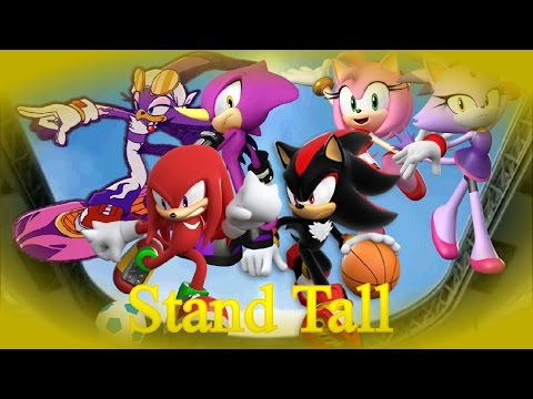Knuckles, Amy, Shadow, Blaze,  Espio, and Wave~ Stand Tall (Requested Jamari Avinger)