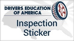 Inspection Sticker - Online Texas Adult Drivers Ed
