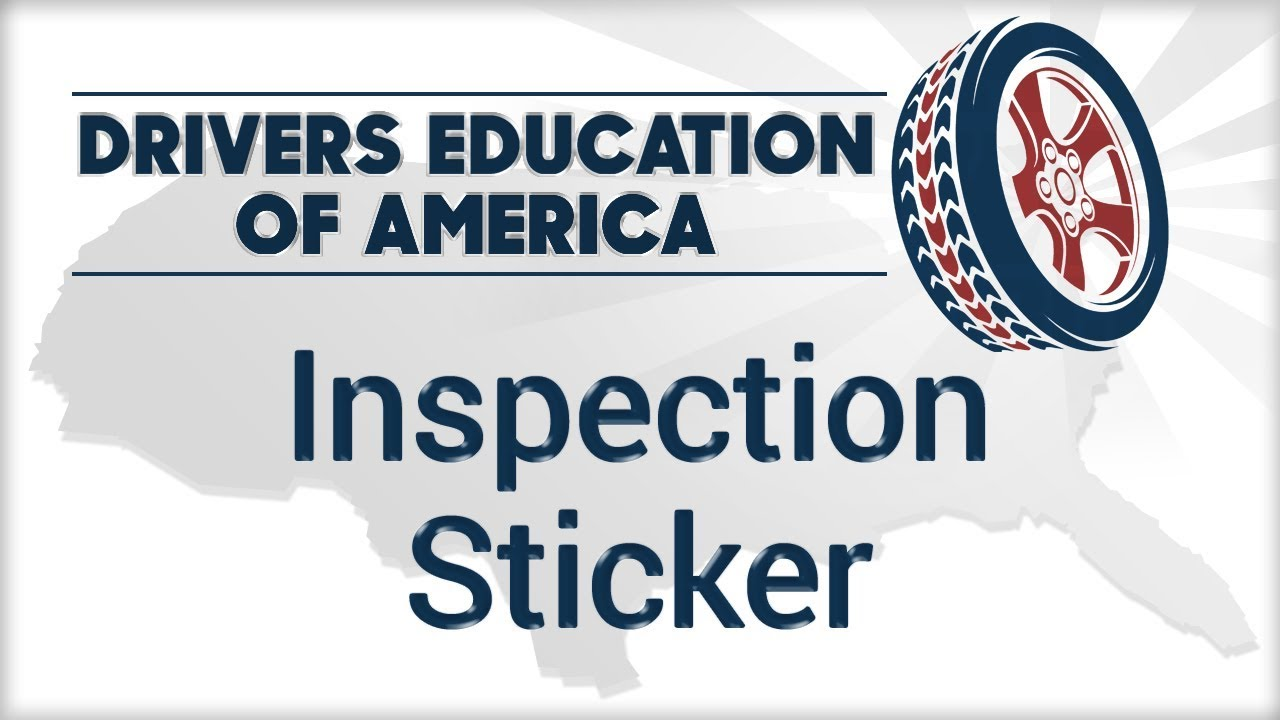 Inspection Sticker Online Texas Adult Drivers Ed