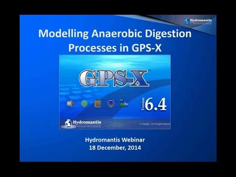 Webinar: Modelling Anaerobic Digestion Processes in GPS-X
