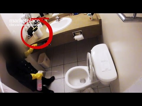 Dirty hotel rooms: Hidden camera shows what really gets clea